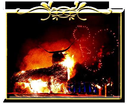 Сожжение соломенного быка