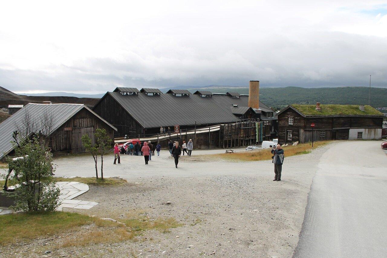 Рёрус, музей Горного  дела и металлургии