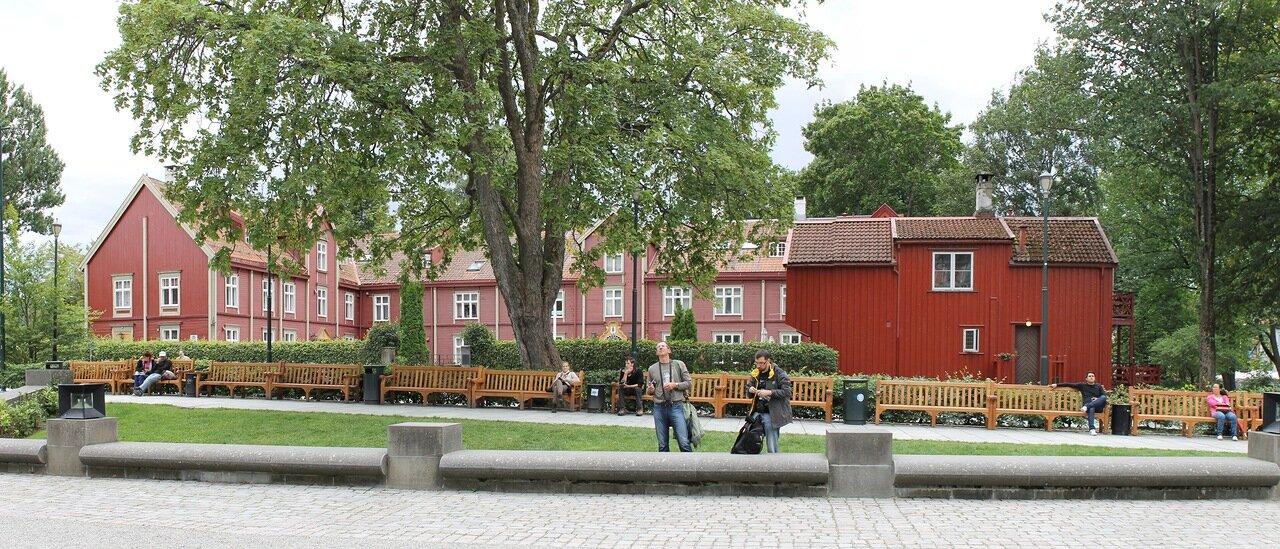 Trondheim, the Archbishop's Residence (Waisenhuset)