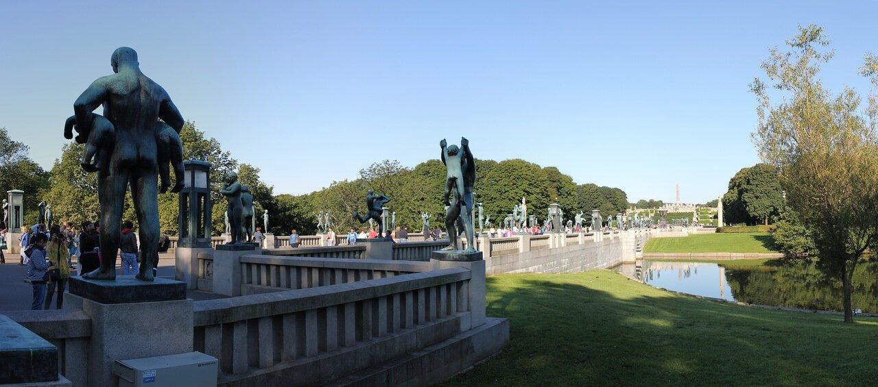 Мост Вигеланда (Broen i Vigelandsanlegget), Осло