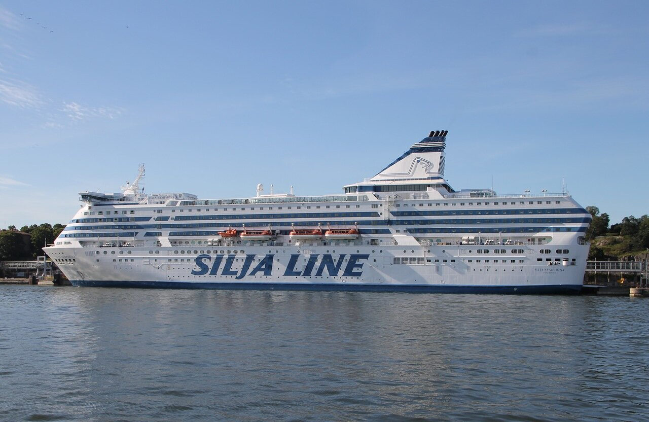 Хельсинки, Южная бухта. паромный терминал Олимпия