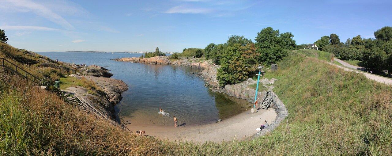 Suomenlinna castle, Sweaborg, Susisaari, Крепость Суоменлинна, остров Сусисаари, panorama