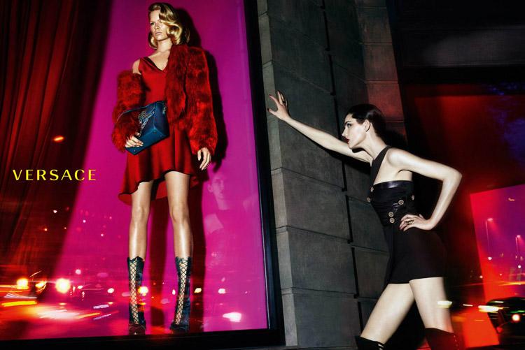 Рекламная компания осень-зима Versace (5 фото)