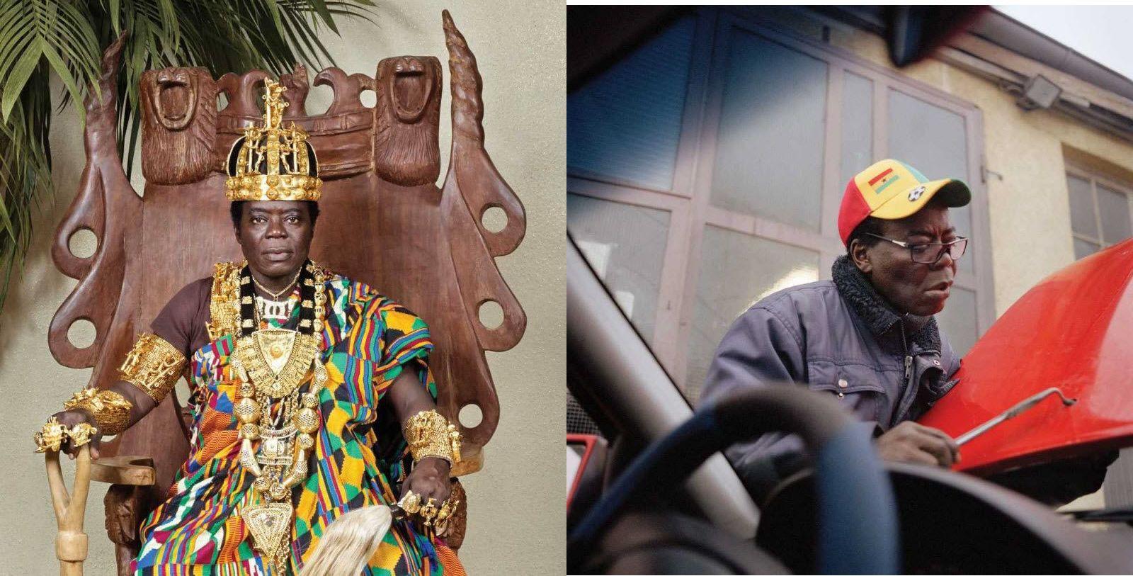 Король Банса или Тогбе Нгорифия Кифа Коси Банса является верховным правителем территории Хохо в Гане