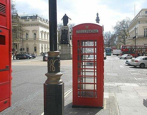 на улицах Лондона.