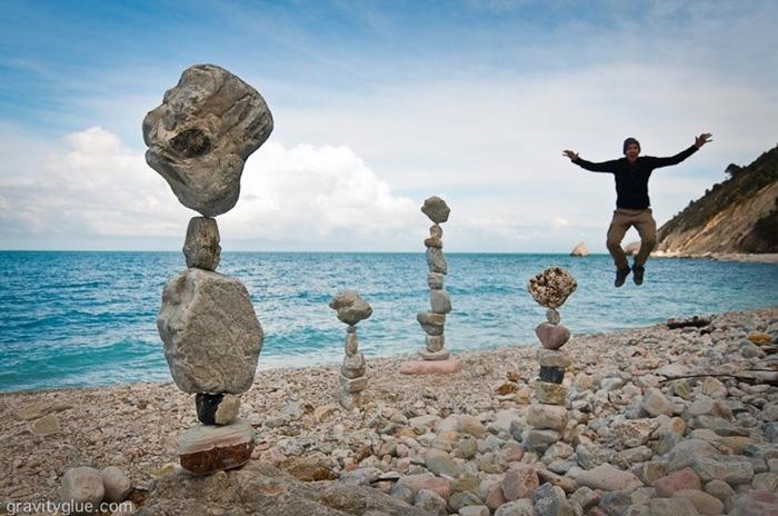 Балансирующие камни Майкла Грэба (Michael Grab)