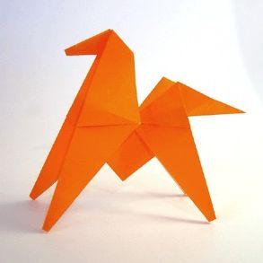 Лошадь в технике оригами