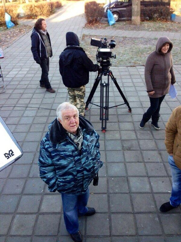 Он видел Михаила Ромма за четыре часа до его смерти- 1 ноября...