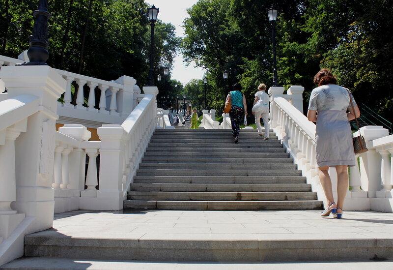 Лестница после реконструкции
