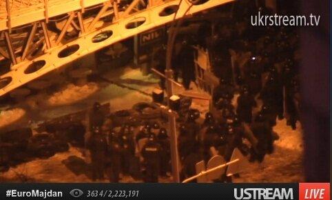 Спецназ под мостиком