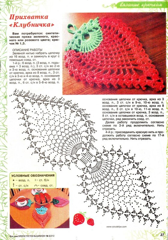 вязание крючком схемы для малышек