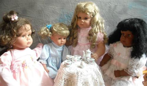 Куклы супругов Johannes Zook и Pat Secrist dolls