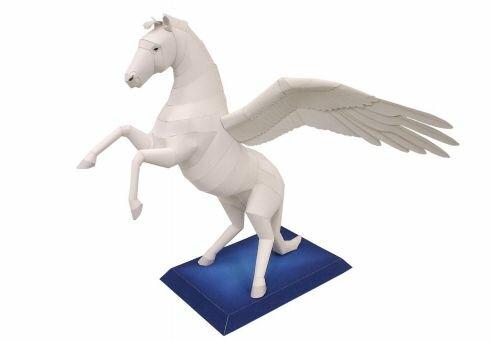 Символ Нового 2014 года - лошадь  из бумаги