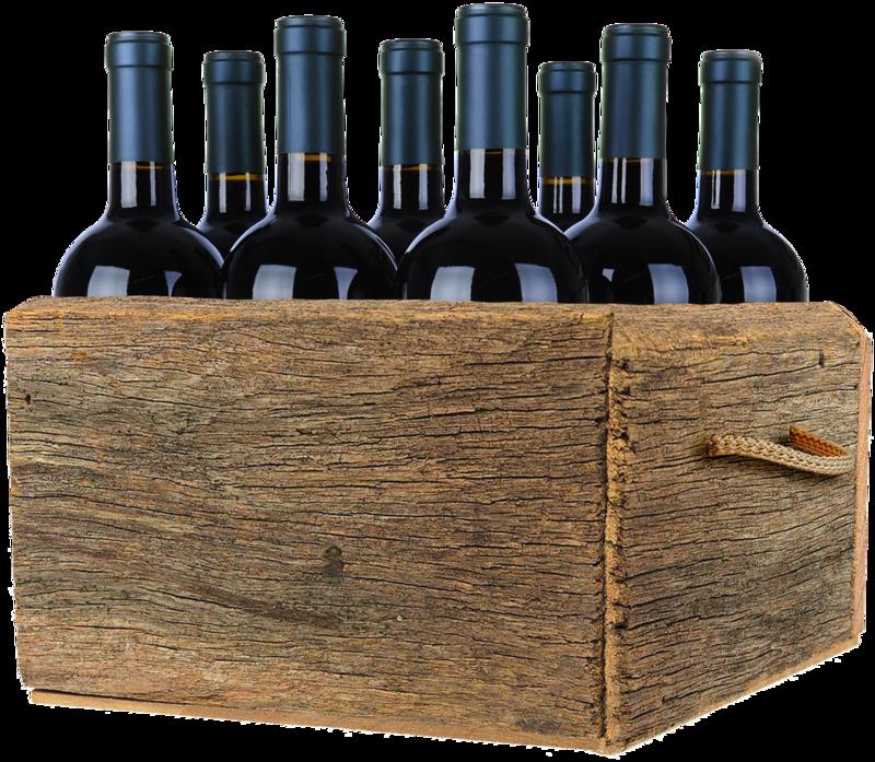 Рисунок для коробки с вином