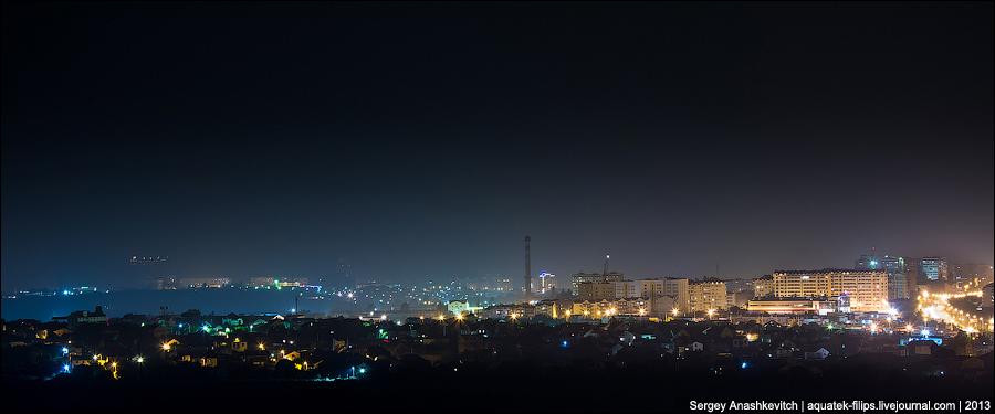 Ночной Севастополь