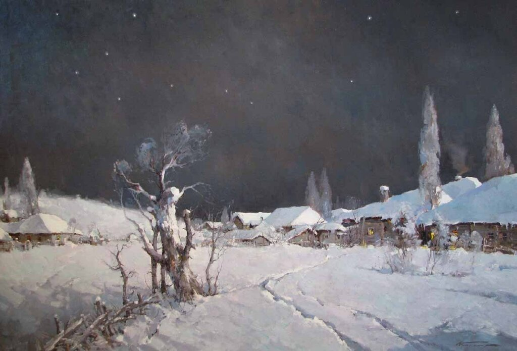 Кремер Александр Маркович. Ночь.