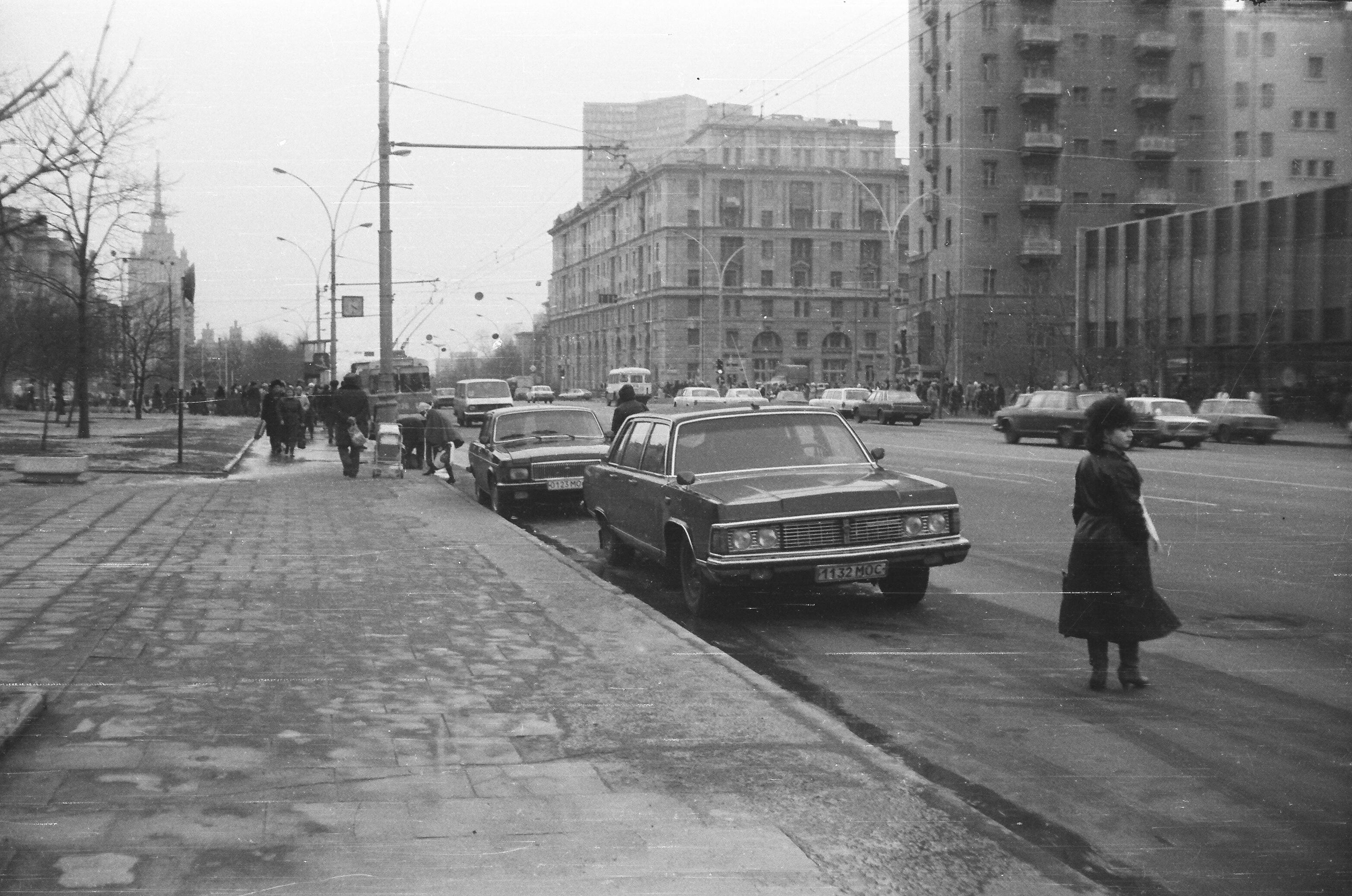 Вид на проспект Калинина