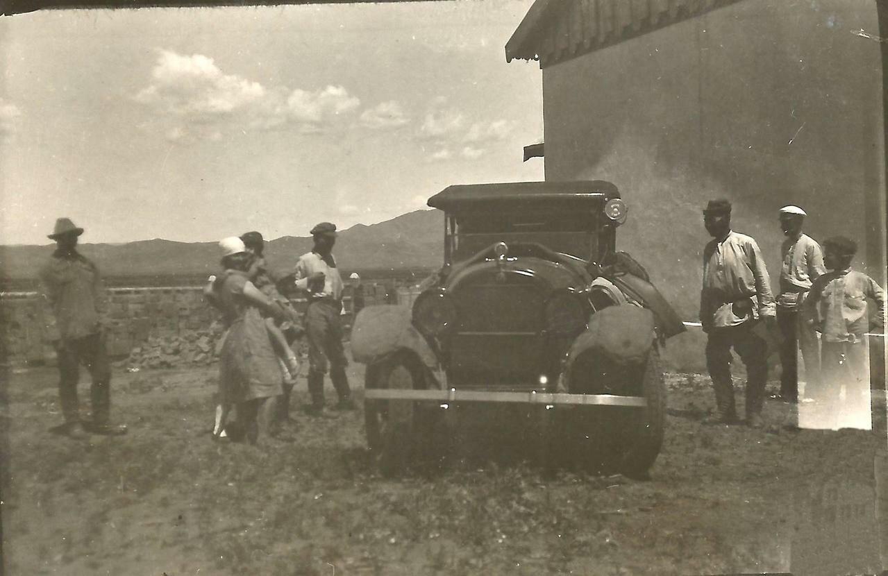 Готовы к отъезду в Ургу (Улан-Батор¬). 5.07.1928г.