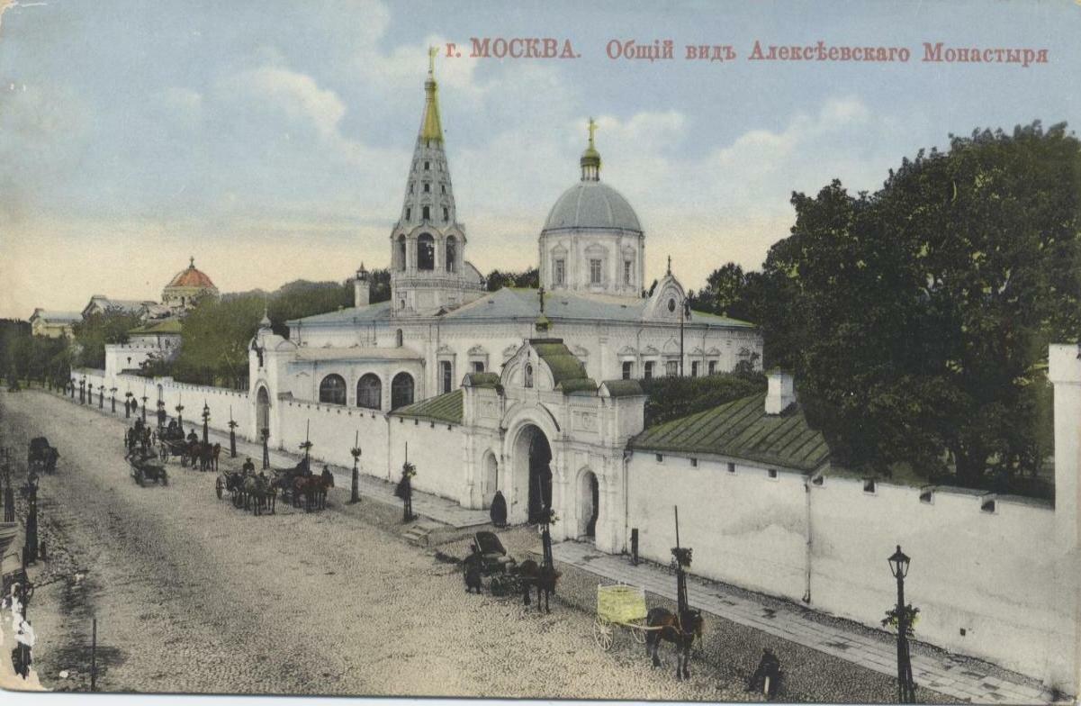 Алексеевский монастырь. Общий вид