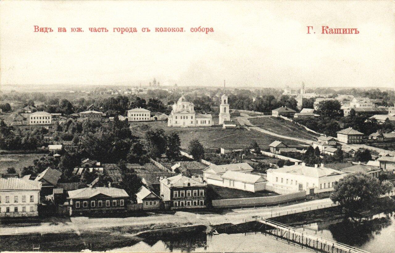 Вид на южную часть города с колокольни