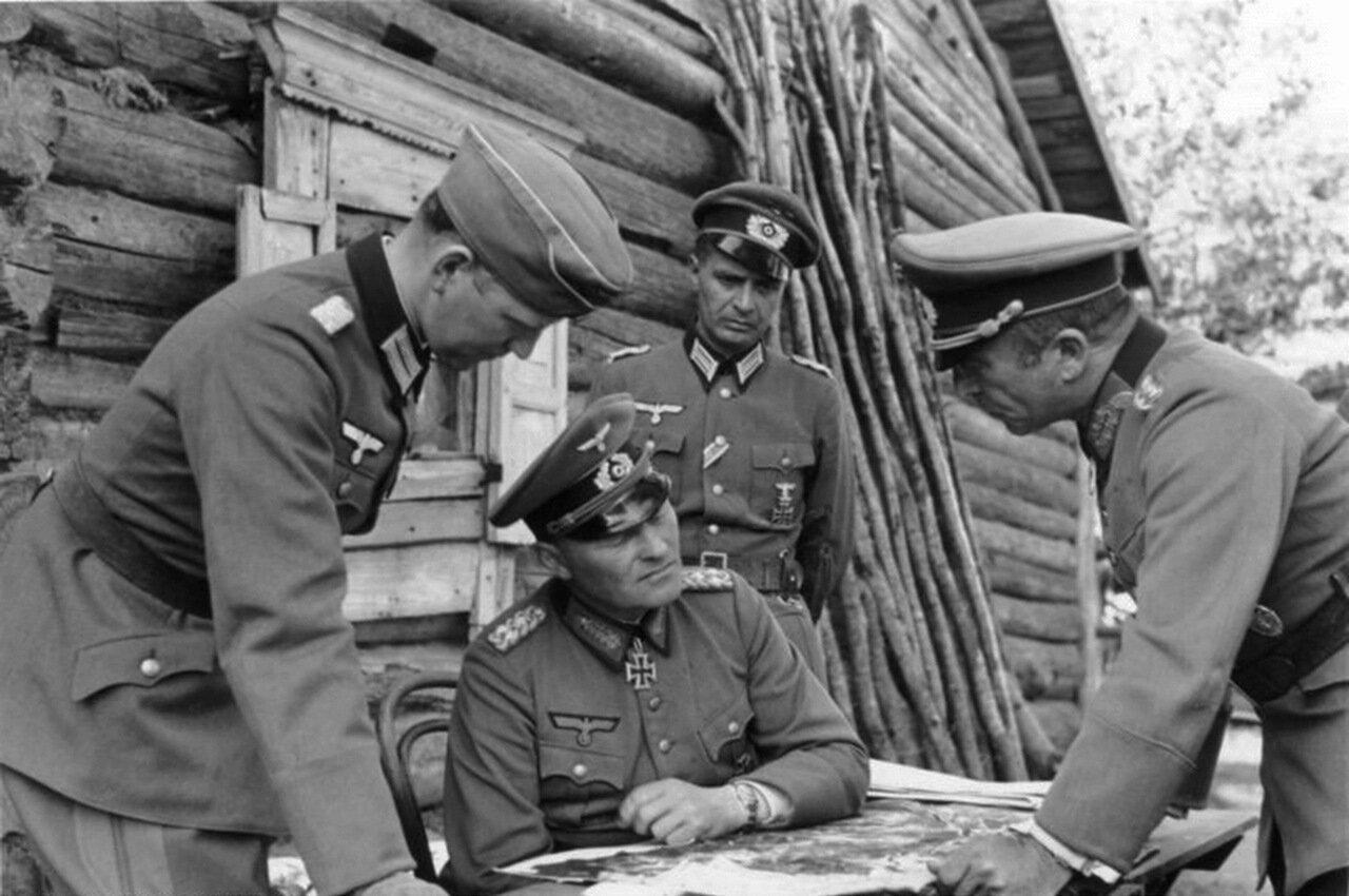 1941. Ленинград, генерал-полковник Эрих Гёпнер и генерал-майор Франц Ландграф