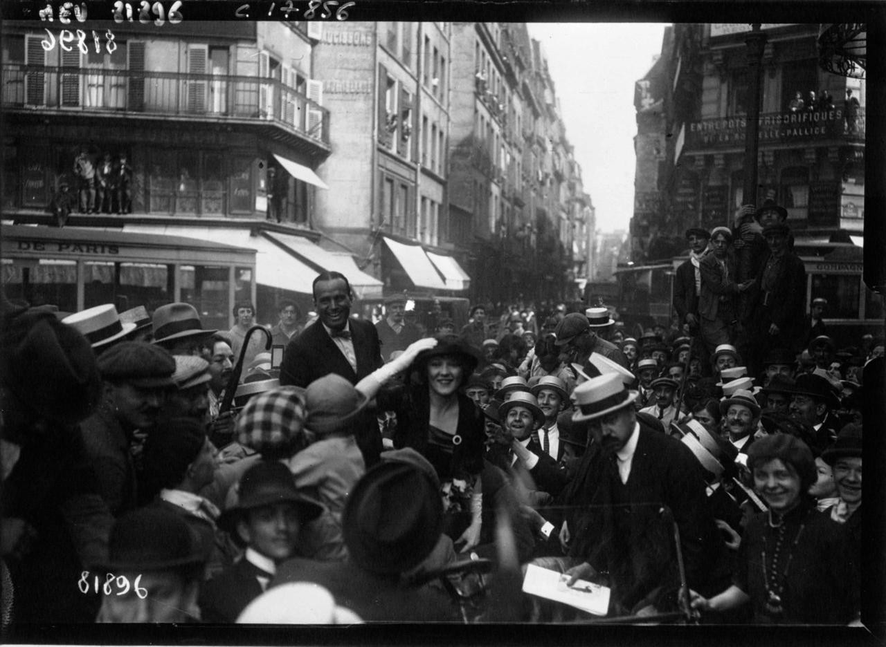 1920. Мэри Пикфорд и Дуглас Фэрбенкс
