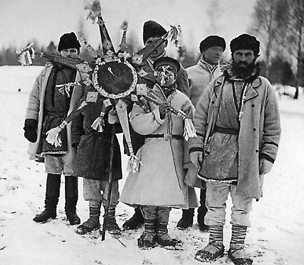 Белорусь, колядки