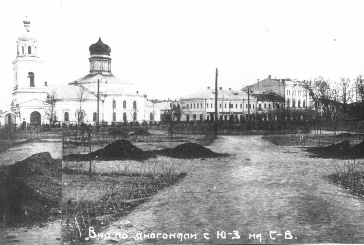 Церковь Св.Николая (гостинного), закладка Братского садика