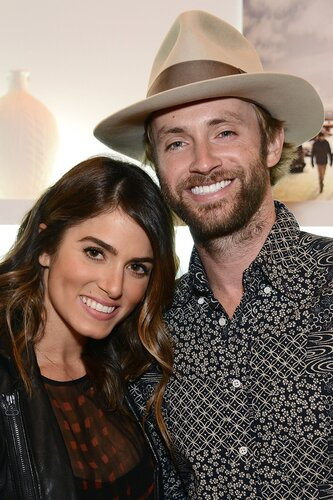 LOS ANGELES, CA - DECEMBER 12: Nikki Reed and Paul McDonald attend Timberland Acoustic Night In on December 12, 2013 in Los Angeles, California. (Photo by Araya Diaz/WireImage)
