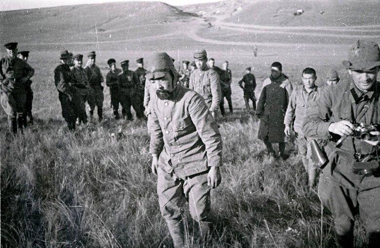 Пленные японские солдаты на Халкин-Голе.