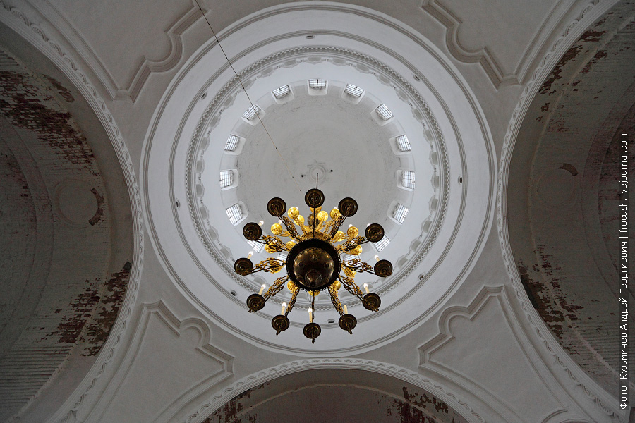 своды Троицкого собора в Уржуме