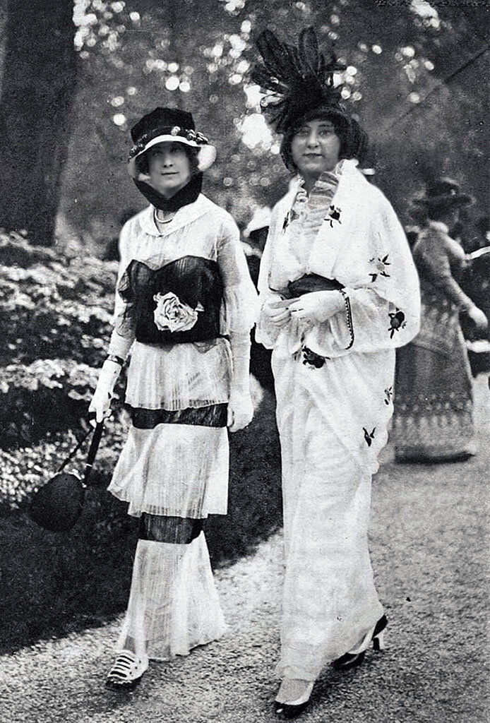 Мода в Париже. 1913 ._Photographer: Gustave Martin_ Fashion in Paris, 1913