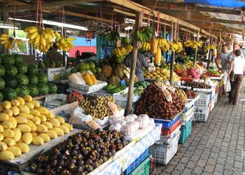 На рынках выросли продажи соевых продуктов, овощей и фруктов