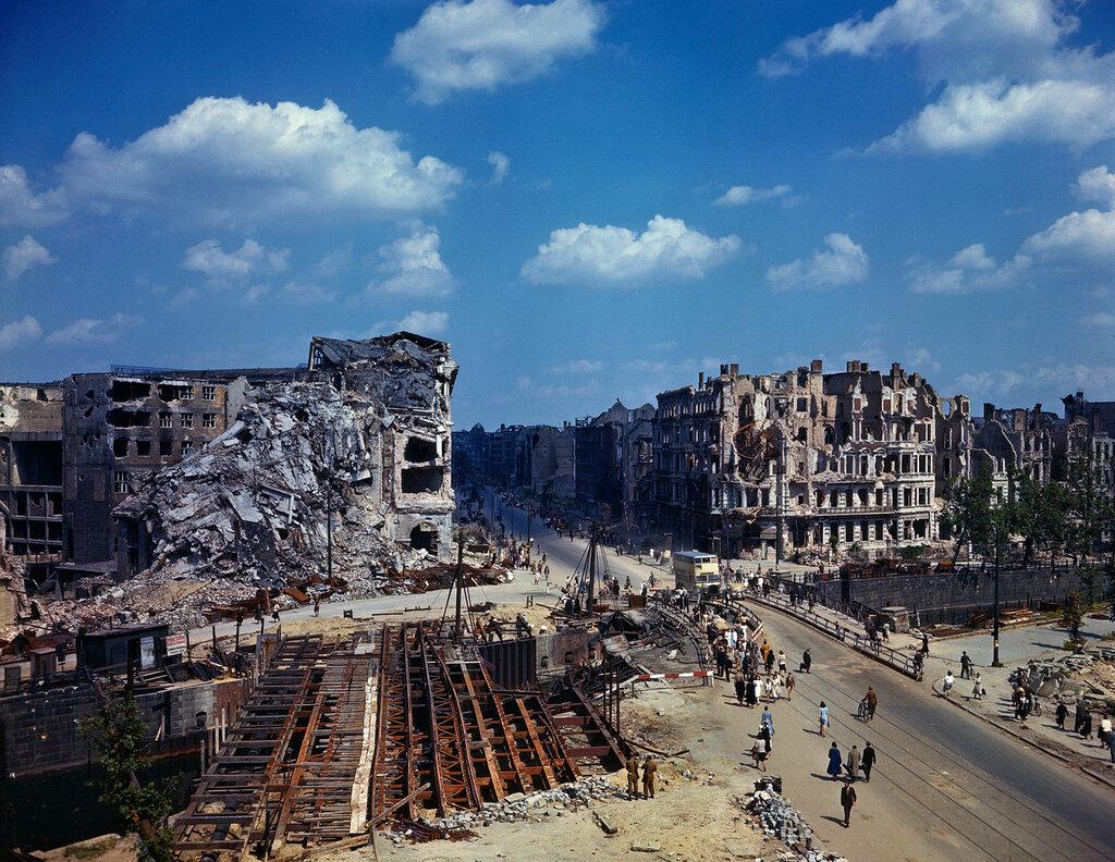 Berlin at End of World War II