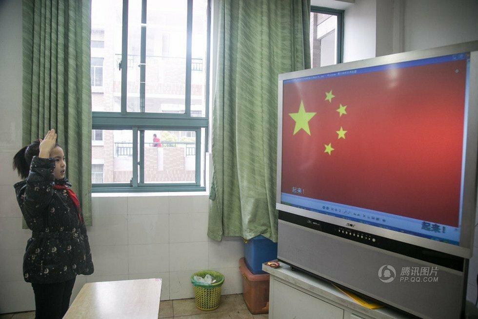 Обычный день в обычной китайской школе