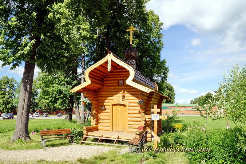 Спасо-Бородинский женский монастырь, часовня Рахили