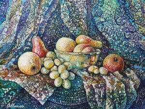 """Натюрморт с фруктами в восточном стиле"""""""