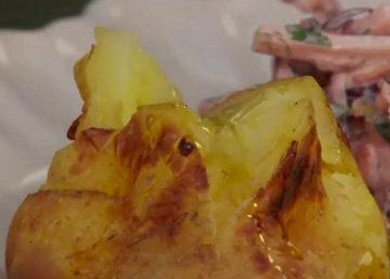 И картошка в мундире