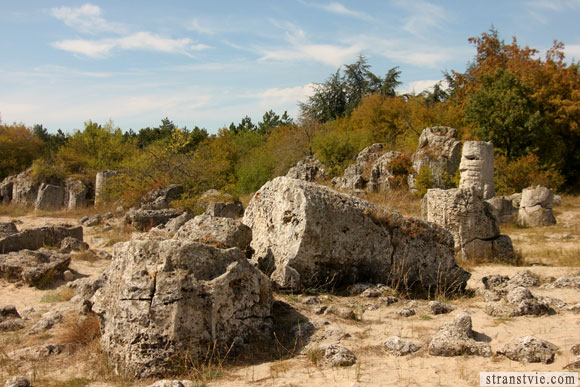 инопланетное сооружение в Болгарии