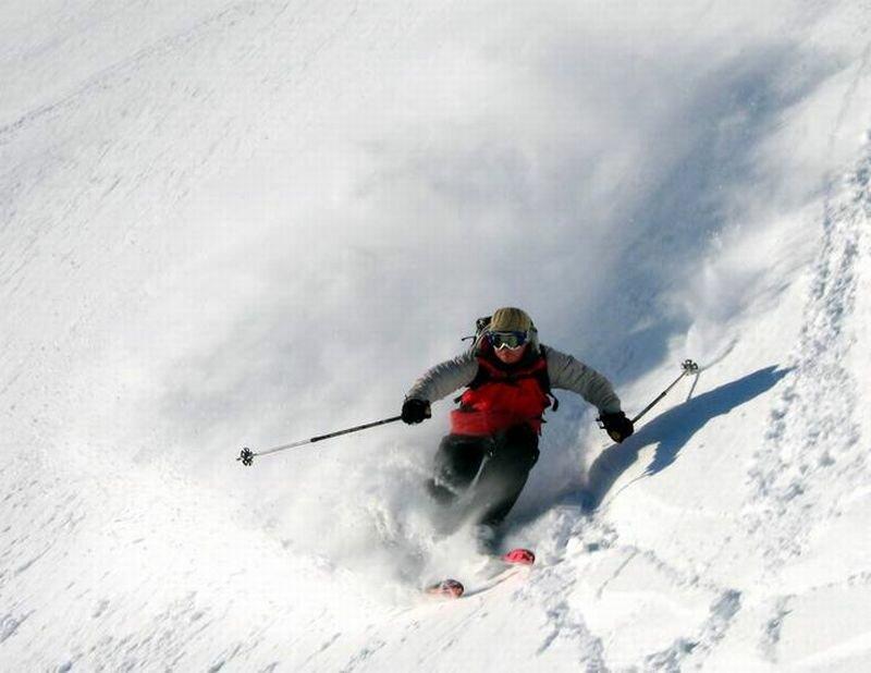 Фрирайд на горных лыжах (01.10.2013)