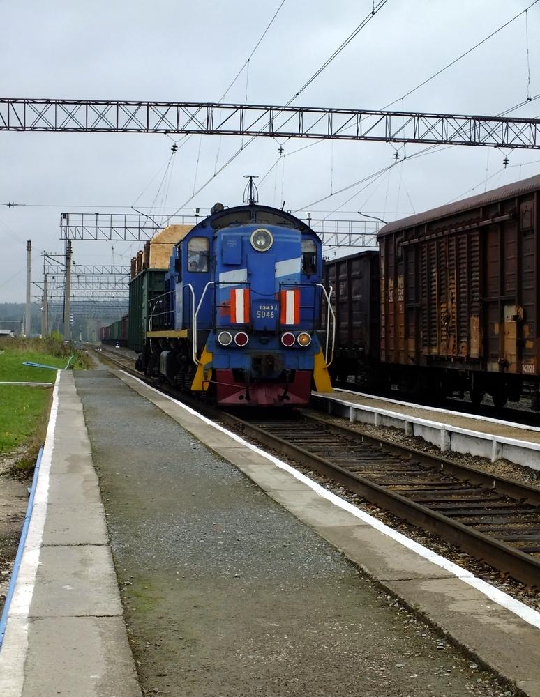 Железнодорожная станция горнозаводск фото