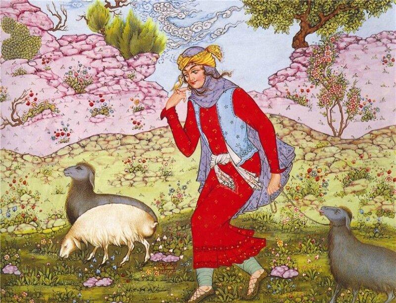 персидская живопись: