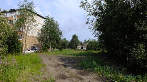 Фото города Инта №5278  Юго-западный угол Заводской 6 25.07.2013_13:39