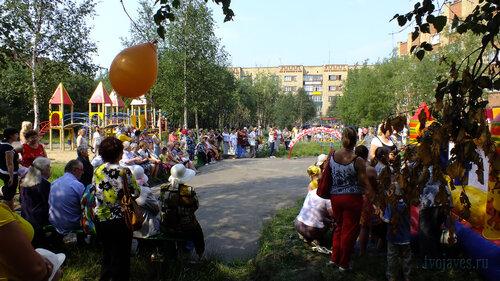 Фотография Инты №5306  Южная сторона Воркутинской 3 28.07.2013_12:44