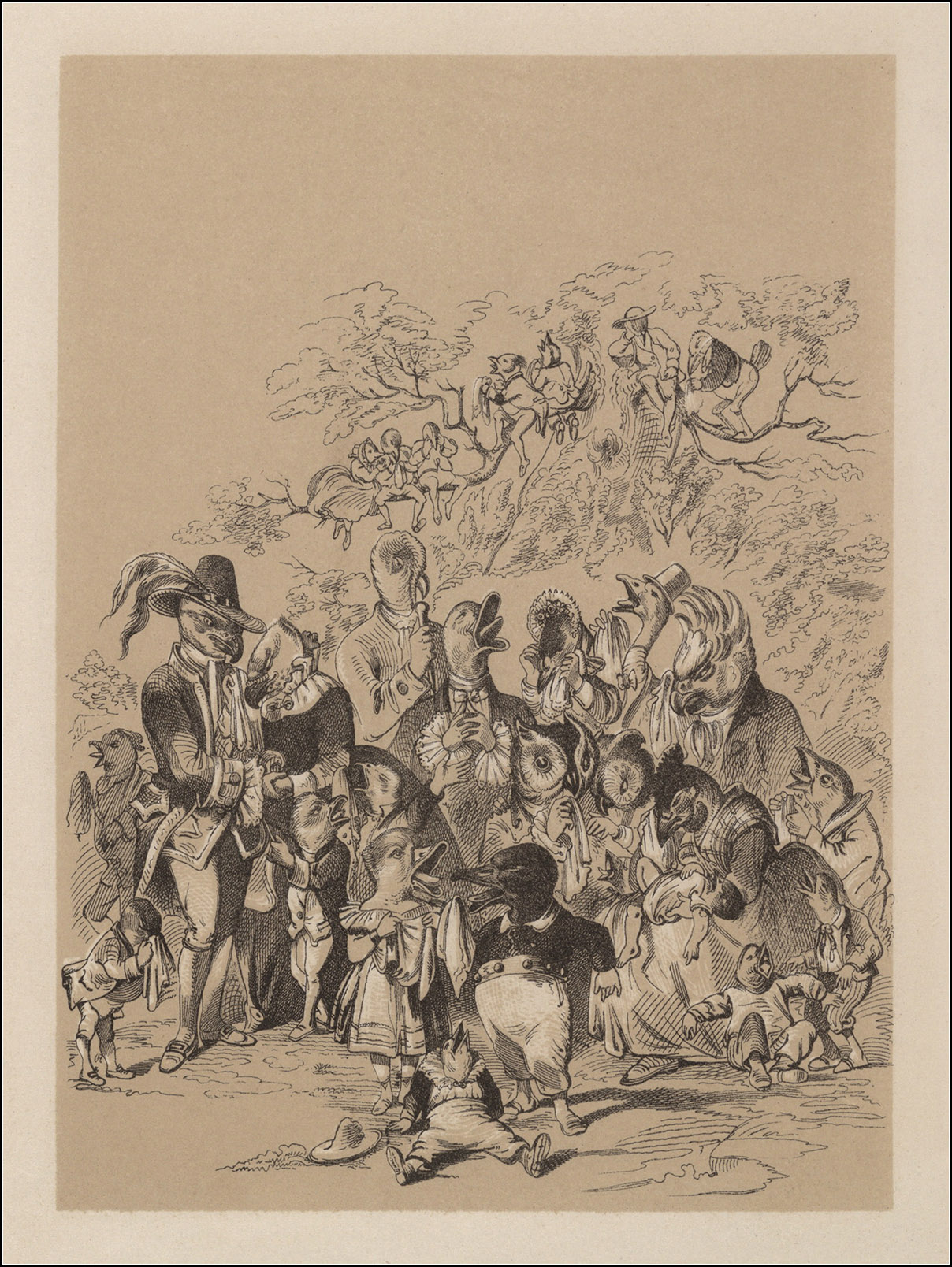 H. L. Stephens, Death and Burial of Poor Cock Robin
