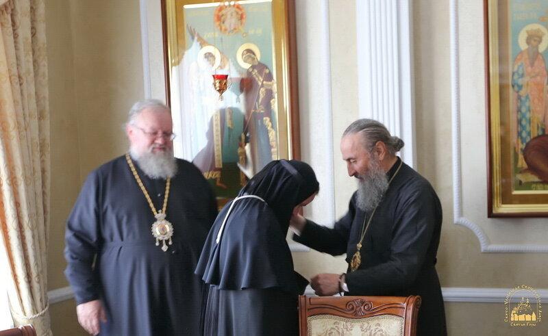 Блаженнейший митрополит Онуфрий в Богородичном. 23 сентября 2015 г.