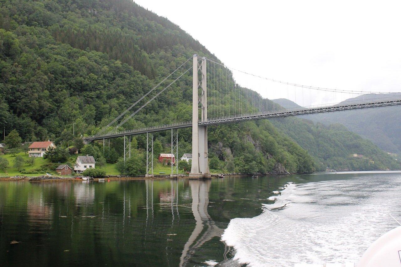 Мост Файксесундбрё (Fyksesundbrua)