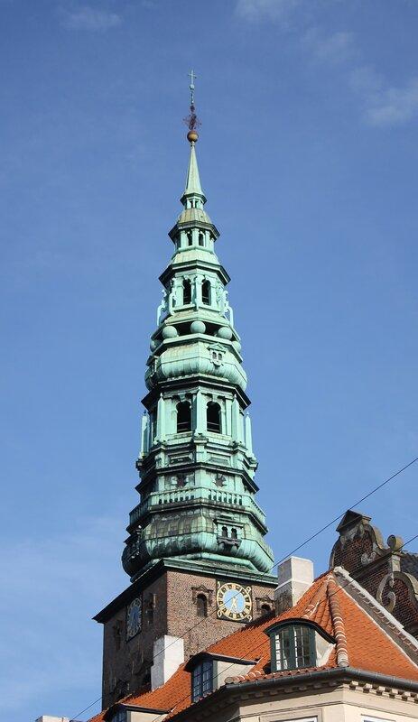 Copenhagen. The Church of St. Nicholas