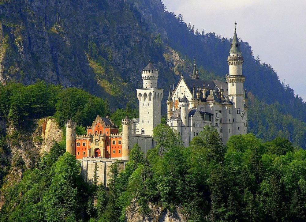 самые красивые замки мира фото картинки