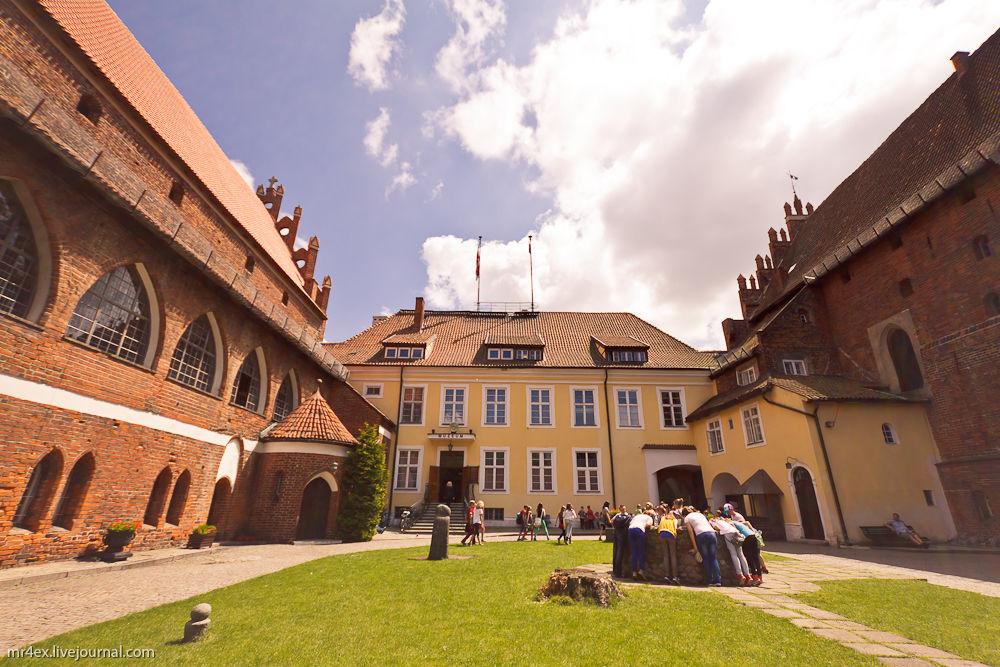 Ольштын, Польша, Ольштынский замок, Olsztyn, Алленштейн
